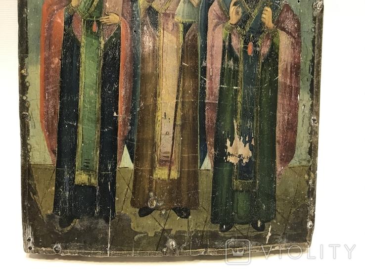 Икона Три святителя, фото №5
