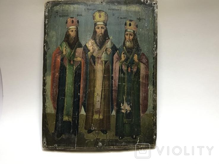Икона Три святителя, фото №6