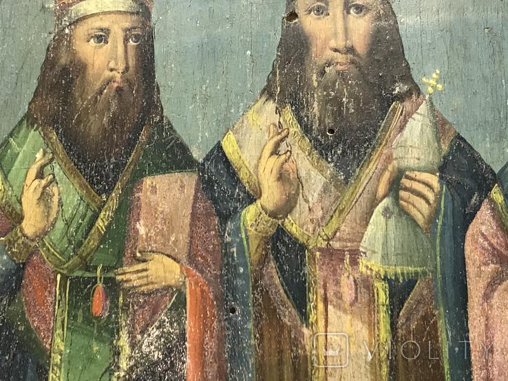 Икона Три святителя, фото №12