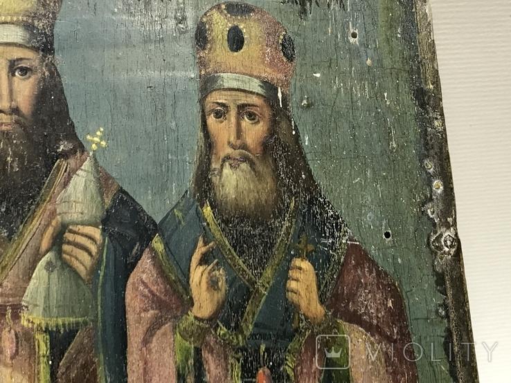 Икона Три святителя, фото №13