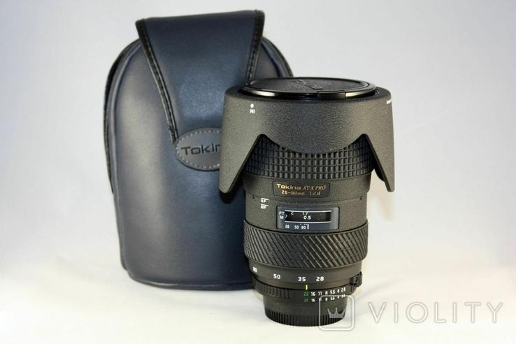 Tokina AF 28-80mm f/2.8 SD AT-X 280 AF PRO., фото №2