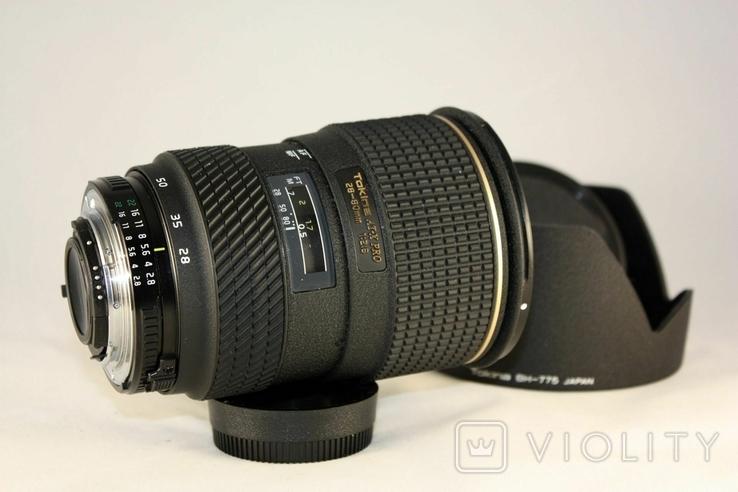 Tokina AF 28-80mm f/2.8 SD AT-X 280 AF PRO., фото №4