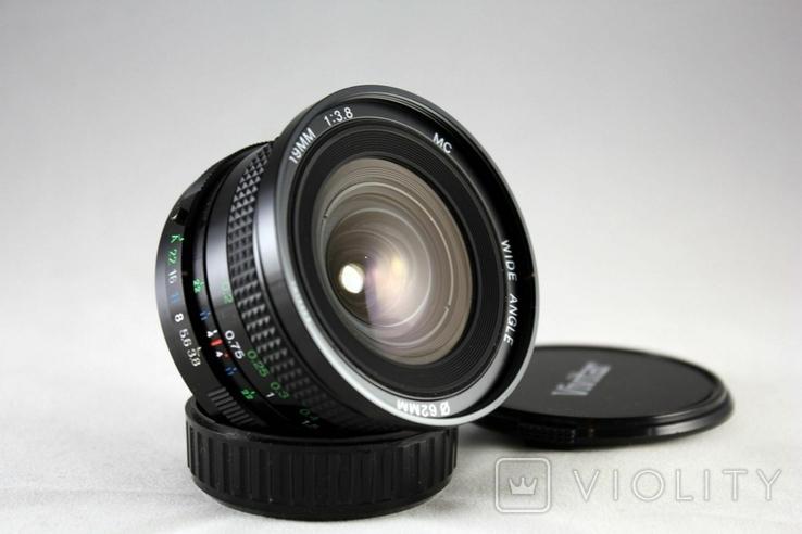 Vivitar(Cosina) f3.8/19mm MC Wide Angle, фото №3