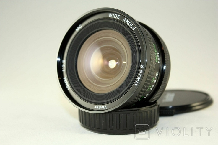 Vivitar(Cosina) f3.8/19mm MC Wide Angle, фото №7