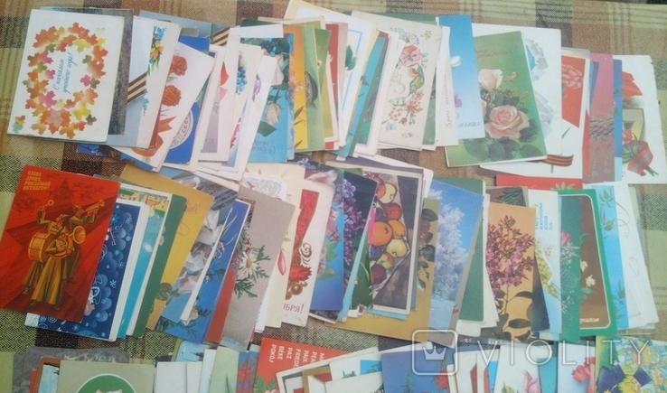 226 не подписанных открыток+бонус, фото №5