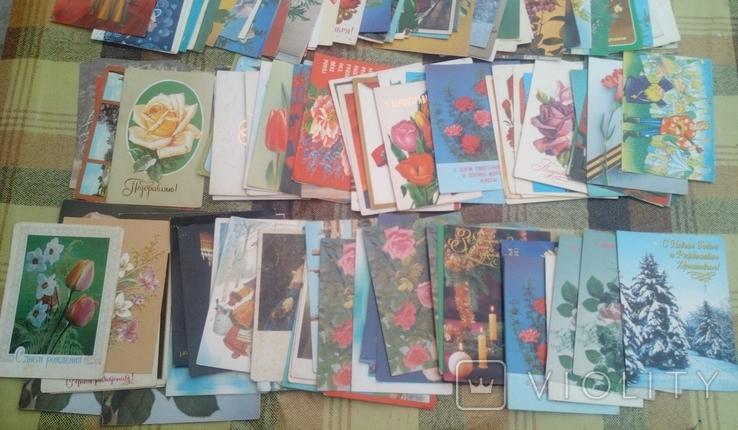 226 не подписанных открыток+бонус, фото №6