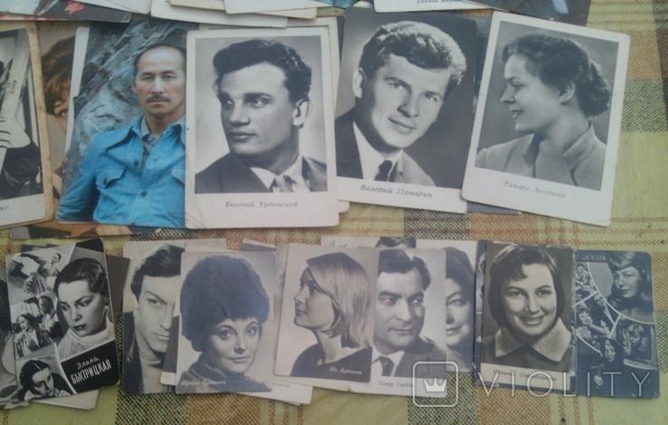 119 не подписанных открыток со знаменитостями ссср и ближнего зарубежья, фото №7