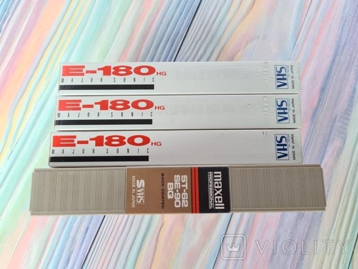 Видео кассеты VHS Maxell E-180, фото №2
