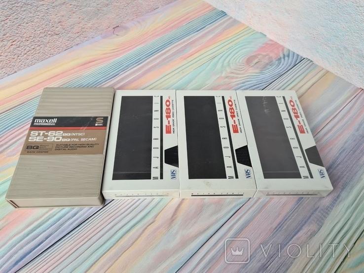 Видео кассеты VHS Maxell E-180, фото №11