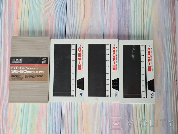 Видео кассеты VHS Maxell E-180, фото №12
