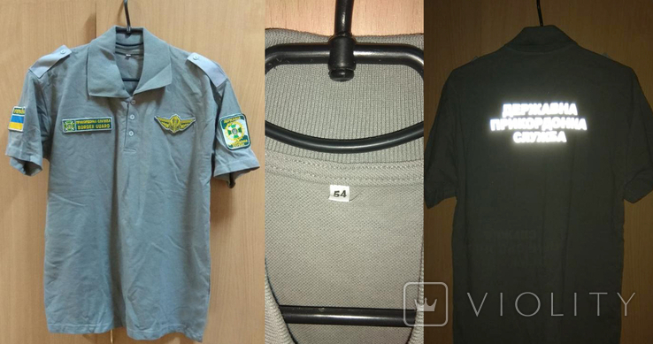 Футболка-поло тенниска пограничная (ДПСУ, Держприкордонслужба України)