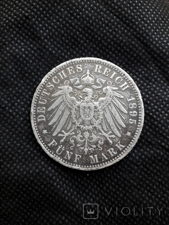 5 марок Германия 1895, фото №4