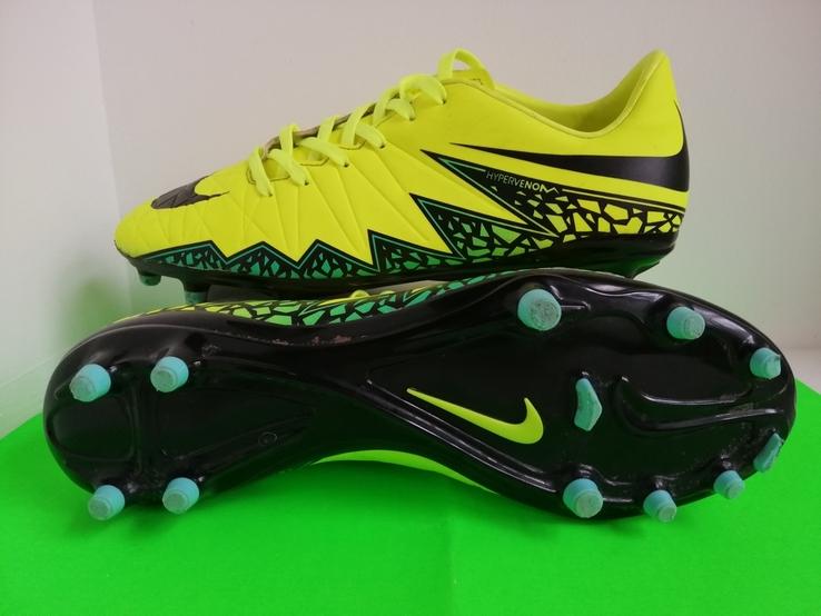 Nike hypervenom сороконожки 26см, фото №2