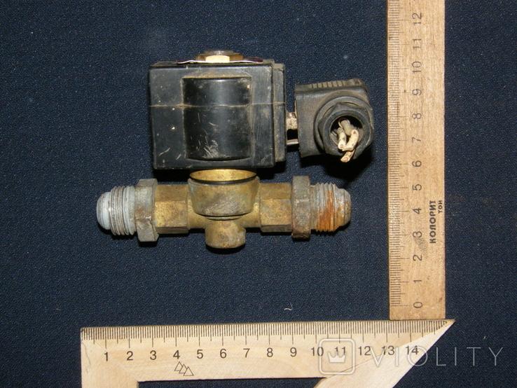 Электроклапан времен СССР (Сделано в Болгарии)., фото №2