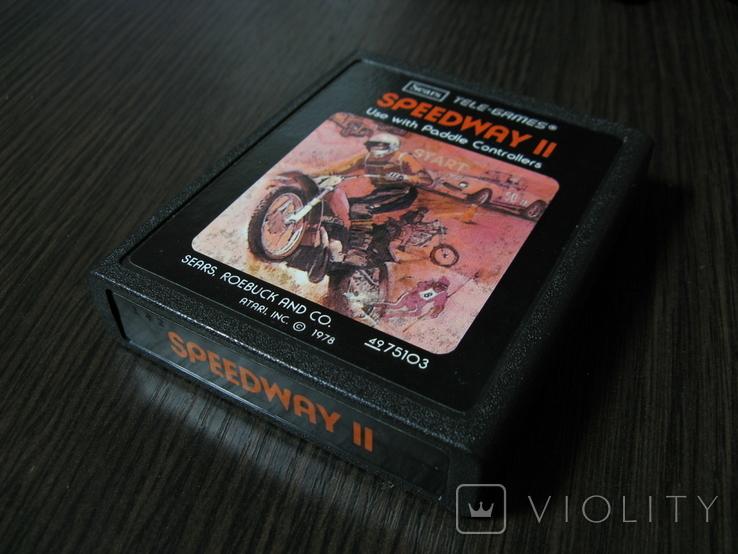Atari 2600 - Speedway II, фото №2