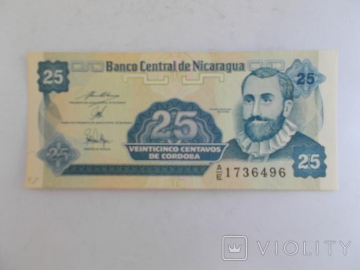 Никарагуа. 25 кордоба, фото №2