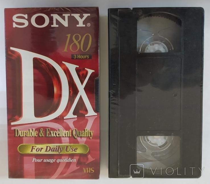 Видеокассеты SONY, BASF. Новые, запечатанные, 2 шт., фото №2