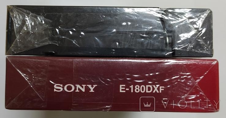Видеокассеты SONY, BASF. Новые, запечатанные, 2 шт., фото №8