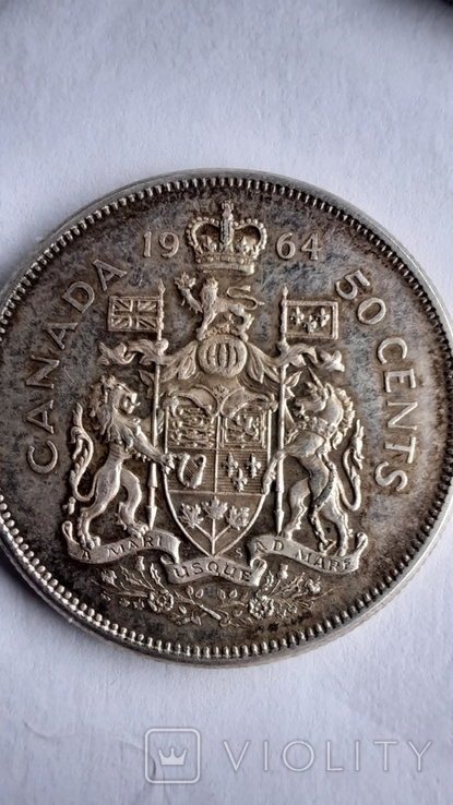 5 долларов1976,1989 ;1 доллар 1962,1964,1965,1966,1967,1972,1976;50центов 1951,1964 (11шт), фото №11