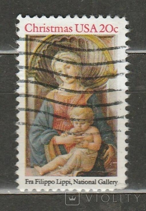 307 США 1984 рождество