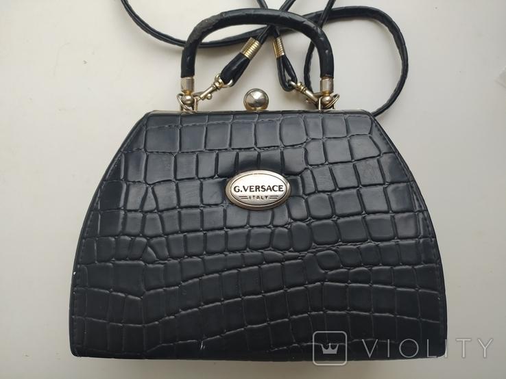 Сумка женская G. Versace. Italy. 2, фото №2