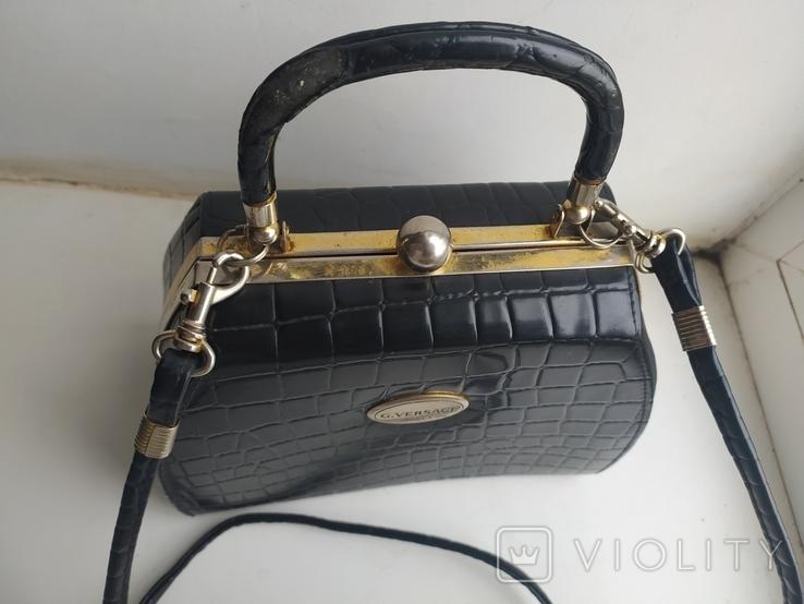 Сумка женская G. Versace. Italy. 2, фото №5