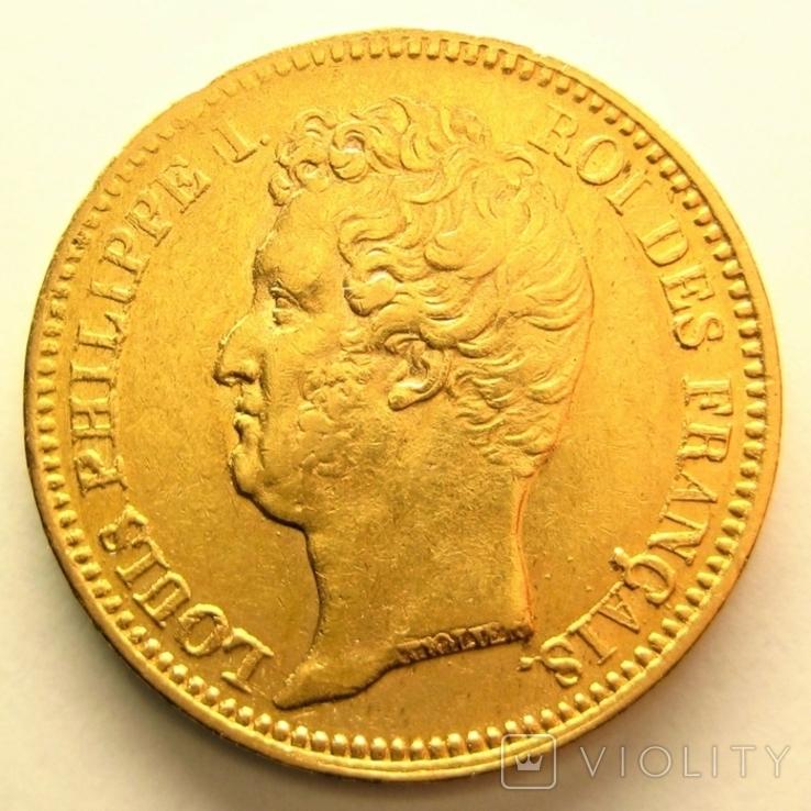 Франция 20 франков 1831 г., фото №2
