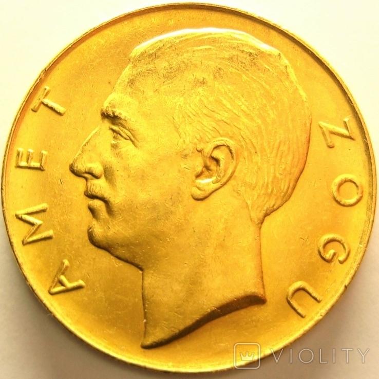 Албания 100 франга ари 1927 г., фото №2
