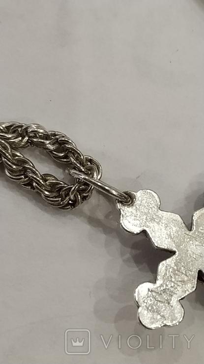 Цепочка с крестиком, фото №7