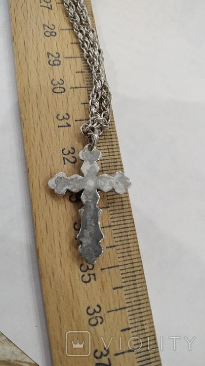 Цепочка с крестиком, фото №8