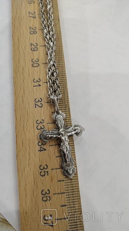 Цепочка с крестиком, фото №9