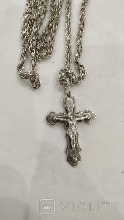 Цепочка с крестиком, фото №11