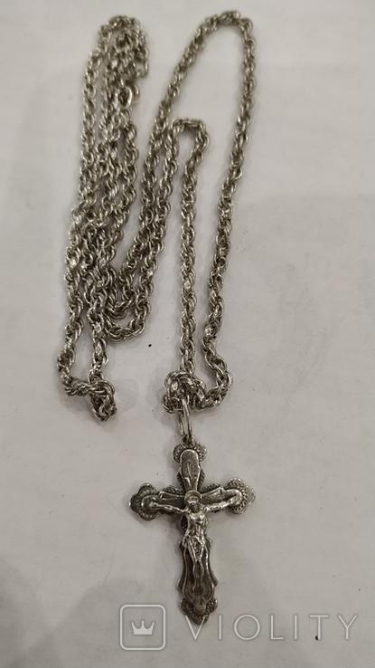 Цепочка с крестиком, фото №12