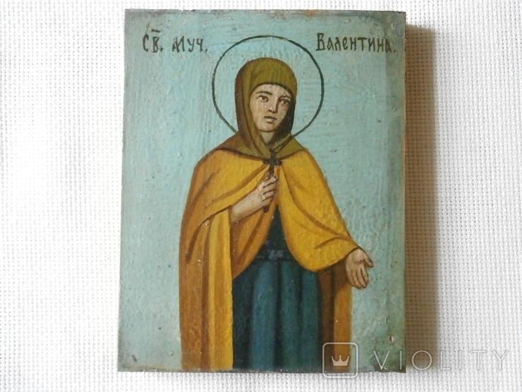 Икона Святая мученица Валентина, фото №2