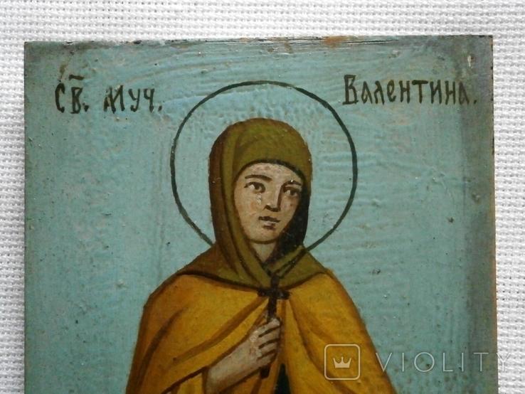 Икона Святая мученица Валентина, фото №3