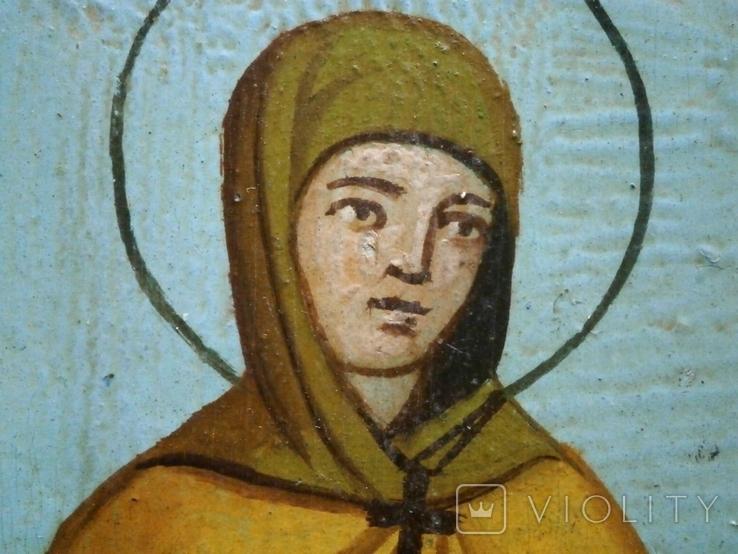 Икона Святая мученица Валентина, фото №7