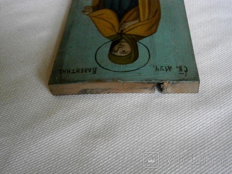 Икона Святая мученица Валентина, фото №9