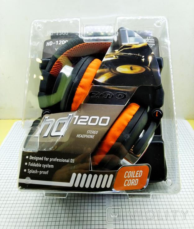 Наушники Zomo HD-1200 Orange. Оригинал. Новые в упаковке., фото №3