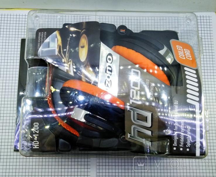 Наушники Zomo HD-1200 Orange. Оригинал. Новые в упаковке., фото №4