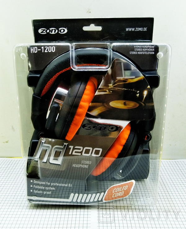 Наушники Zomo HD-1200 Orange. Оригинал. Новые в упаковке., фото №5