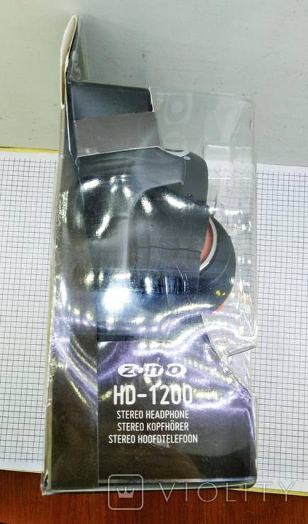 Наушники Zomo HD-1200 Orange. Оригинал. Новые в упаковке., фото №6