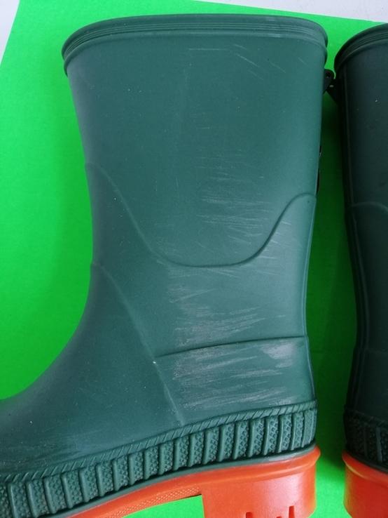 Детские резиновые сапоги Б.У, фото №5