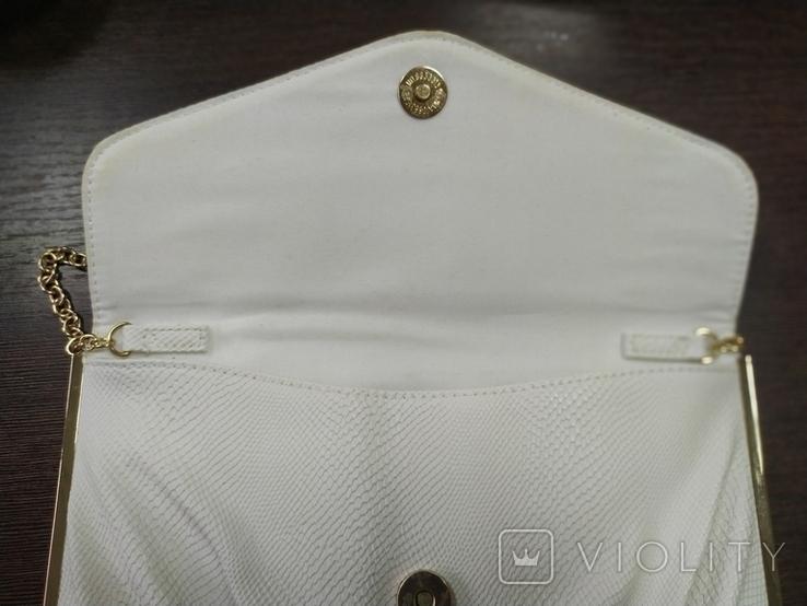 Клатч New Look с ручкой-цепочкой или сумочка. 25х16см. Новый, фото №7
