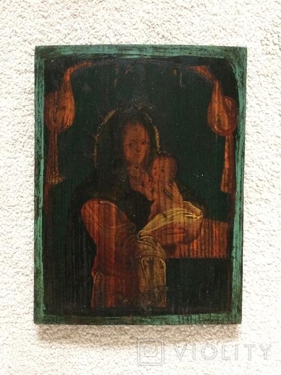 Икона 19 век без реставрации - размеры 375 х 285 мм, фото №2