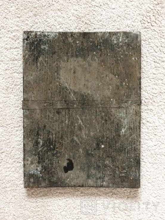 Икона 19 век без реставрации - размеры 375 х 285 мм, фото №3