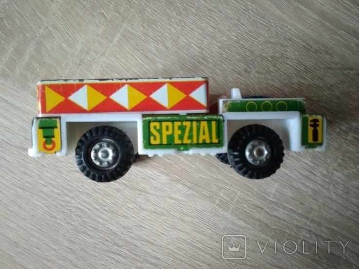 Машинка ГДР. Металл и пластик., фото №8