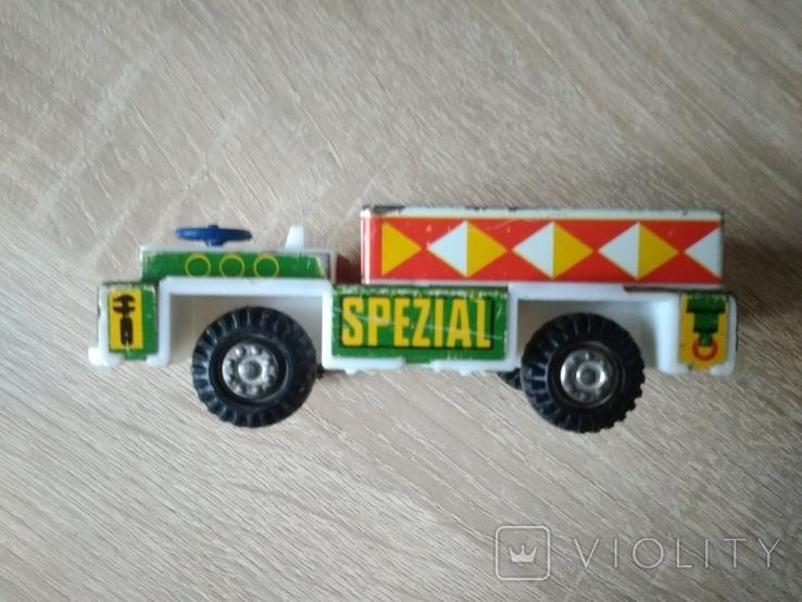 Машинка ГДР. Металл и пластик., фото №9