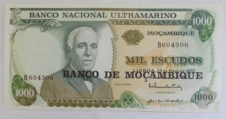 Мозамбик 1000 эскудо 1972 г., фото №2