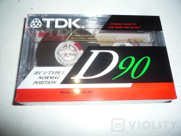 Кассета TDK - 90, фото №2