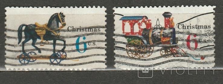 308 США 1970 рождество игрушки